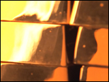 Video Clip - Rotating stack of gold bars