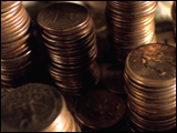 Video Clip - Stacks of quarters