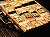 Video Clip - Brief case full of hundred dollar bills
