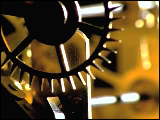 Video Clip - Mechanical device rotating