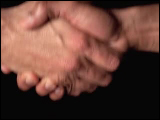 Video Clip - A firm hand shake
