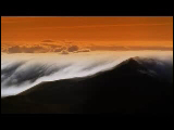 Video Clip - Clouds over the mountain in the evening