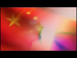 Video Clip - Canada and China flags in the same frame