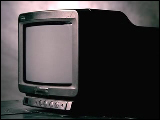 Video Clip - An old little television