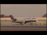 Video Clip - Commercial arlines taking off, flying and landing