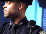 Video Clip - An officer from the Boston police department