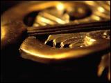 Video Clip - A shiny golden caduceus is shown