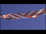 Video Clip - American flag waving up high
