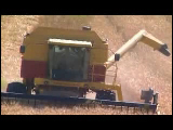 Video Clip - Grain harvesting and processing