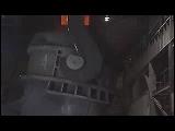 Video Clip - Steel kiln used in heavy metal production