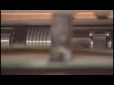 Video Clip - Paper printing in a printing press