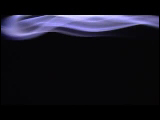 Video Clip - Smoke in front of a black background