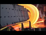 Video Clip - Steel production in factory