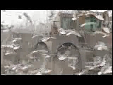 Video Clip - Lots of birds scavenging off of waste material in a garbage dump yard which is being cleared by a bulldozer